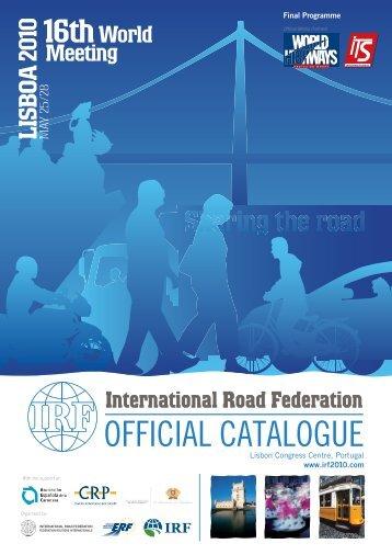OFFICIAL CATALOGUE - CRP