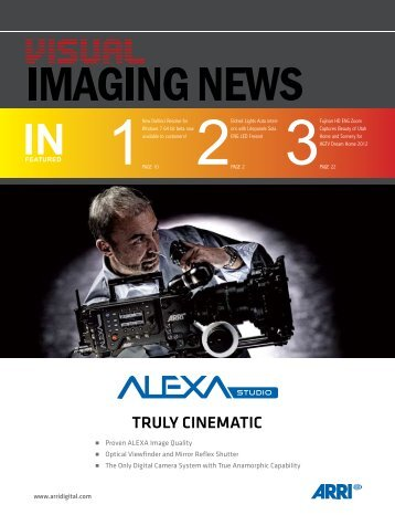 View January 2012 Issue - Visual Imaging News