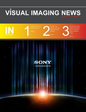 View August 2011 Issue - Visual Imaging News