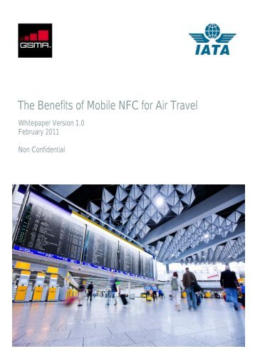 The Benefits of Mobile NFC for Air Travel - IATA