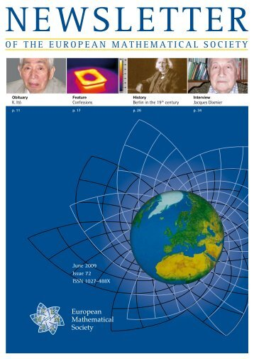 Highlights in Springer's eBook Collection - European Mathematical ...