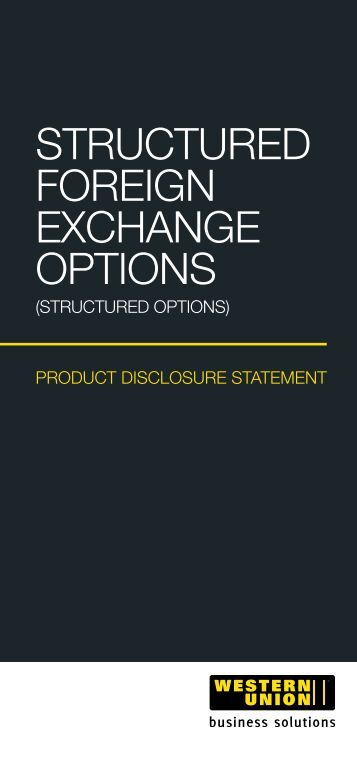 Structured fx options