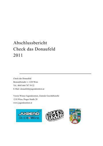 Check das Donaufeld - Verein Wiener Jugendzentren