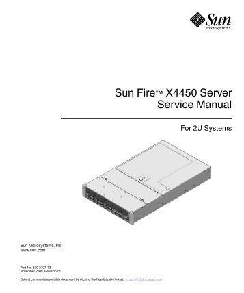 sun enterprise 450 service manual