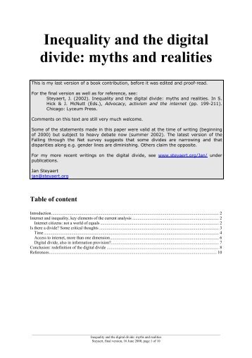 Myths and Realities about Technology in K-12 Schools: Five Years Later