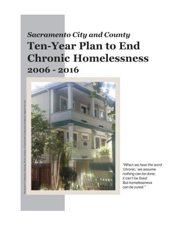 proposal the end homelessness in americca Volunteers of america credits lynne carruth virginia beach strategic plan to end homelessness page 4 2013 strategic plan to end homelessness, builds upon and expands the 2007 plan it incorporates progress to date.