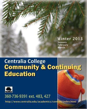 Community & Continuing Education - Centralia College