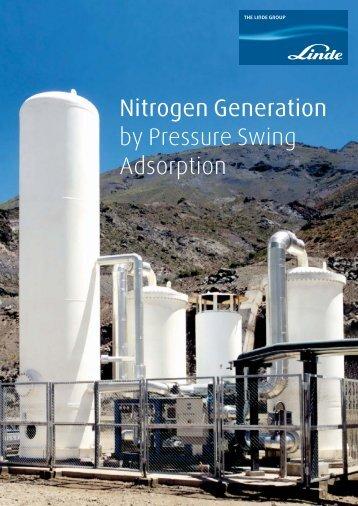 Nitrogen Generation by Pressure Swing Adsorption - Linde-India