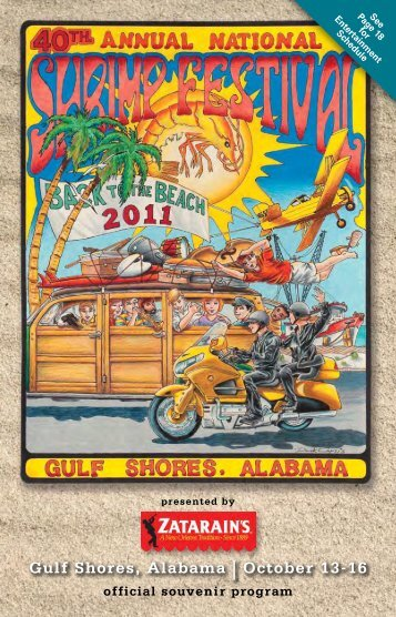 Gulf Shores, Alabama | October 13-16 - Alabama Gulf Coast Area ...
