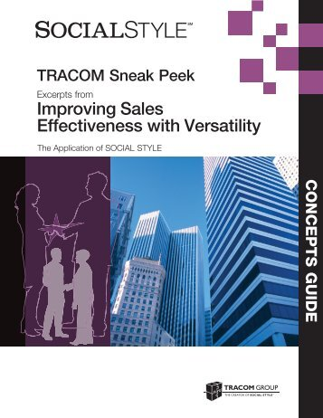 Sales Concepts Guide Sneak Peek