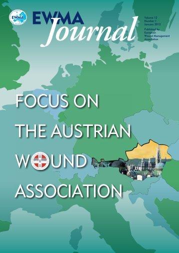 FOCUS ON THE AUSTRIAN W UND ASSOCIATION - EWMA