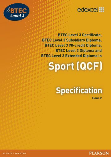btec sport national extended diploma level Btec level 3 national extended diploma in creative digital media production (digital games.