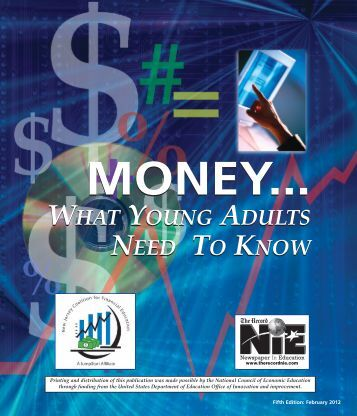 Money... What Young Adults Need to Know - Rutgers New Jersey ...