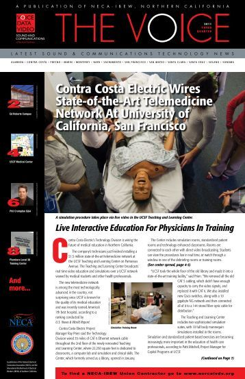 Contra Costa Electric Wires State-of-the-Art ... - Norcalvdv.org