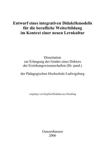 Rodehau, Siegfried - Fachsymposium-Empowerment