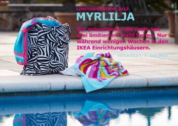 pdf limited edition 2012 - myrlilja (1.36 mb) - Ikea