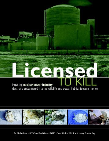 Licensed to Kill - Nuclear Information and Resource Service