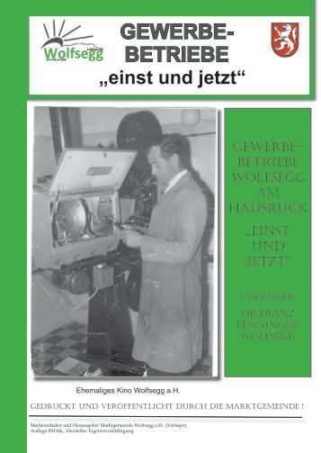 GEWERBE- BETRIEBE - Wolfsegg am Hausruck