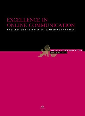 Now availiable - Digital Communication Awards