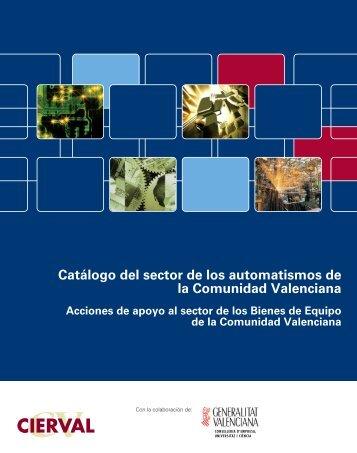 Catálogo del sector de los automatismos de la Comunidad ... - Cierval