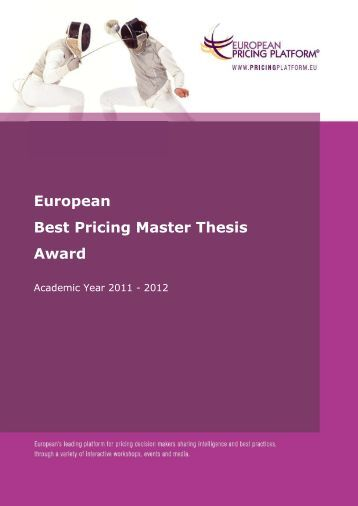 master thesis database eur Master's theses published from 1988 forward include 150-word abstracts  [http ://wwwdart-europeeu/about/infophp]  ebsco's open dissertations database  also has records from the british library's ethos service.