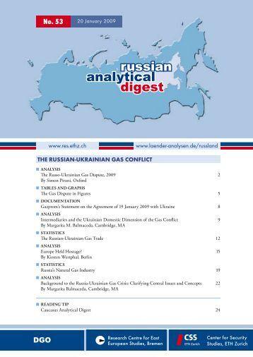 russia ukraine gas dispute case study