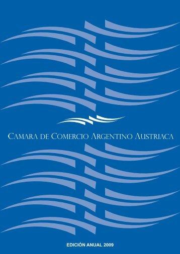 edición anual 2009 - Cámara de Comercio Argentino Austríaca