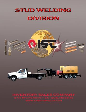 Stud Welding Catalog - Inventory Sales Company