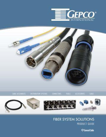FIBER SYSTEM SOLUTIONS - Gepco