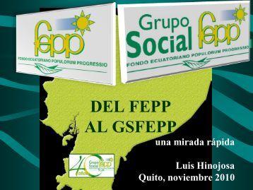 Luis Hinojosa - FEPP