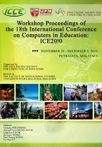 ICCE2010 Workshop Proceedings - APSCE Asia-Pacific Society for ...