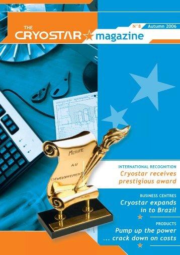 The Cryostar Magazine N°8
