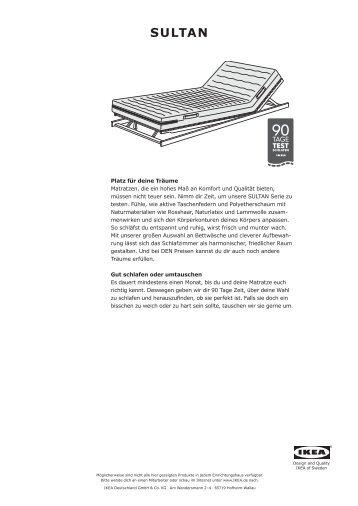 SULTAN - Ikea