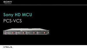 PCS-VCS Sony HD MCU