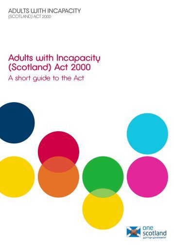 2000 act adult england incapacity scotland wales