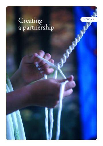 Creating a partnership - WFP