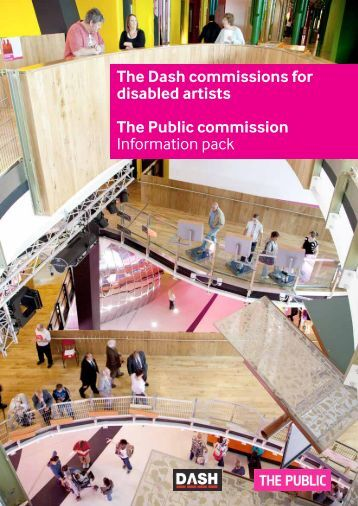 The Dash commissions for disabled artists The ... - Full Circle Arts