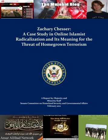Zachary Chesser: A Case Study in Online Islamist - U.S. Senate ...