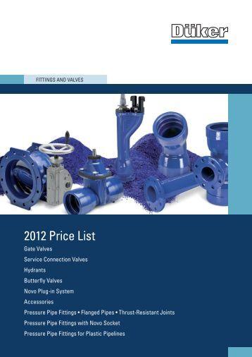 price list 2012 pdf kb trox. Black Bedroom Furniture Sets. Home Design Ideas