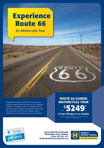 Experience Route 66 - Harvey World Travel