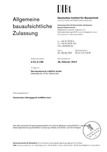 t30 2 allgemeine bauaufsichtliche zulassung forster profile. Black Bedroom Furniture Sets. Home Design Ideas