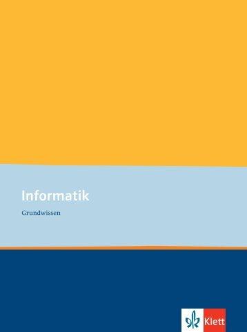 Klett_Informatik_Grundwissen - Ernst Klett Verlag