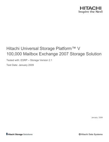 Universal storage platform virtual machine usp vm for Hitachi usp v architecture