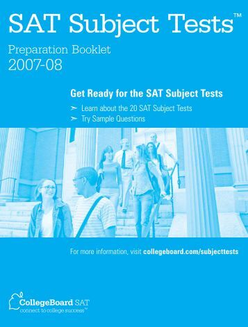 sat literature subject test pdf