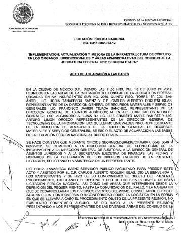 . í , IBIIREC ÓN GENE - Consejo de la Judicatura Federal