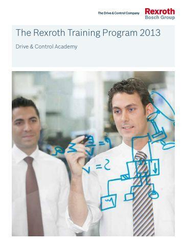 The Rexroth Training Program 2013 - Bosch