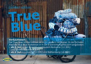 LIMITED EDITION 2012 - TRUE BLUE Kollektion (PDF, 4 - Ikea