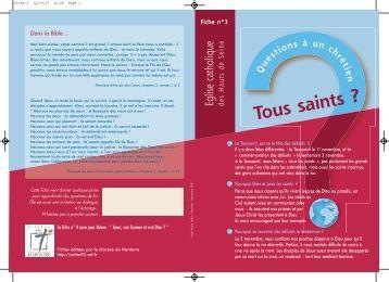 Tous saints - Diocèse de Nanterre