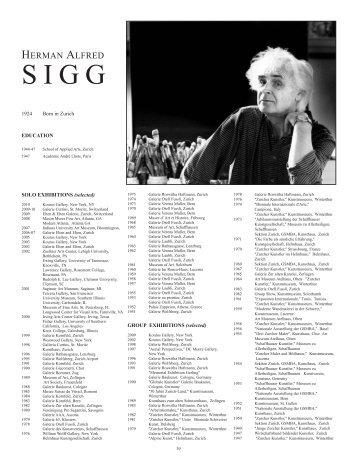 Sigg Cat Main 2010 andreas new - H.A. Sigg