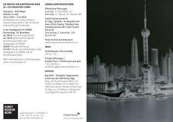 Big Draft - Shanghai - Gegenwartskunst aus der Sammlung Sigg ...